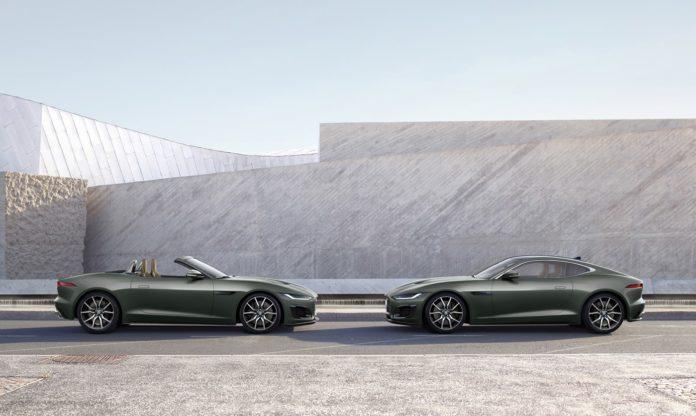 Jaguar F-TYPE Heritage 60 Edition születésnap