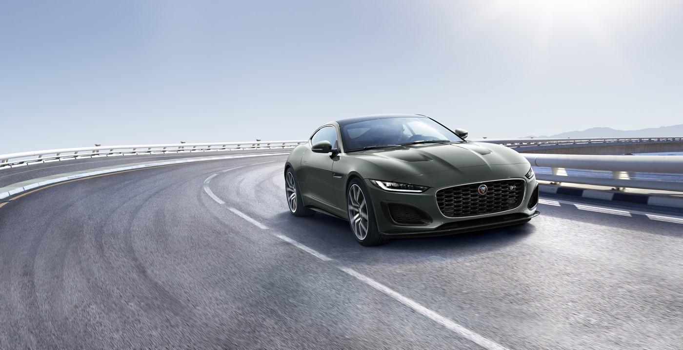 Jaguar F-TPYE Heritage 60 Edition