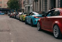 BMW M modellek kisfilm
