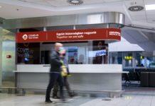 budapest airport koronavírus tesztközpont