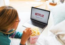 netflix streaming laptop film