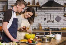 sütés-főzés konyha szerelmespár
