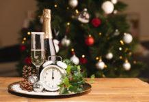 szilveszter pezsgő új év