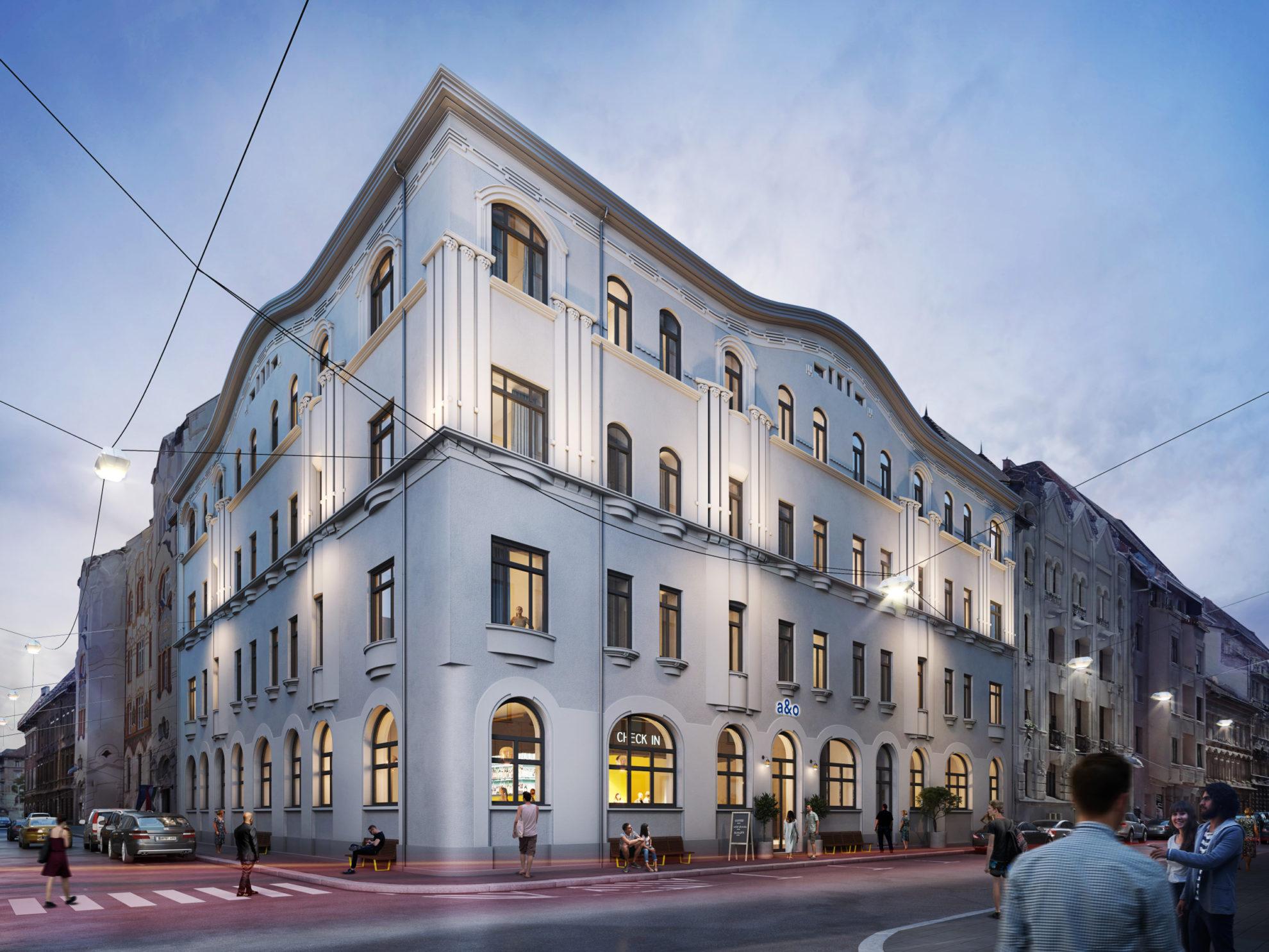 kártyagyár épület budapest belváros