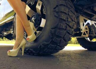 magassarkú cipő vezetés