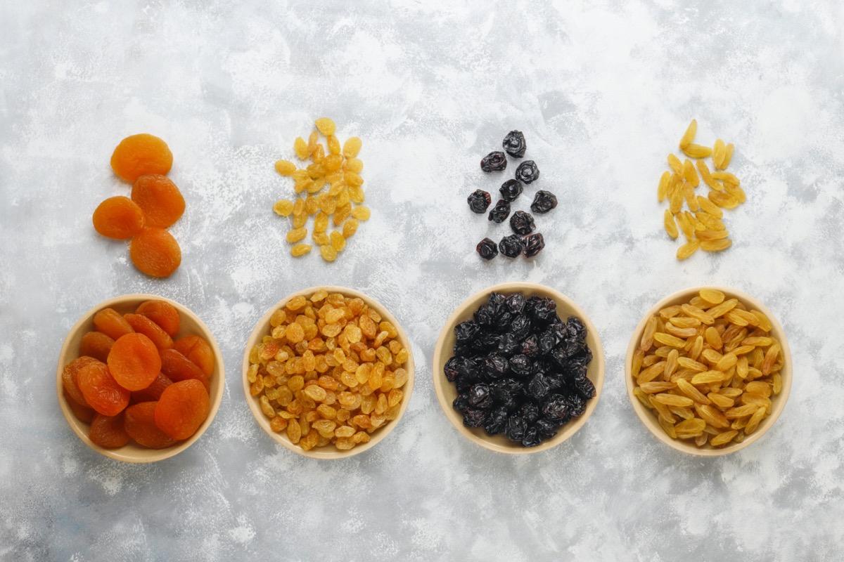 egészséges aszalt gyümölcs