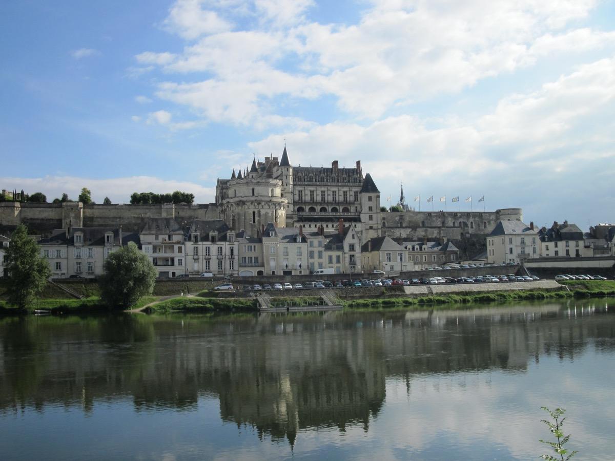amboise kastély franciaországban francia kastélyok