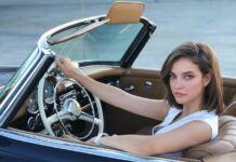 palvin barbi barbara magyar modell autó