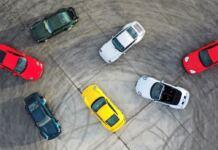 Porsche 911 modellek különböző színekben