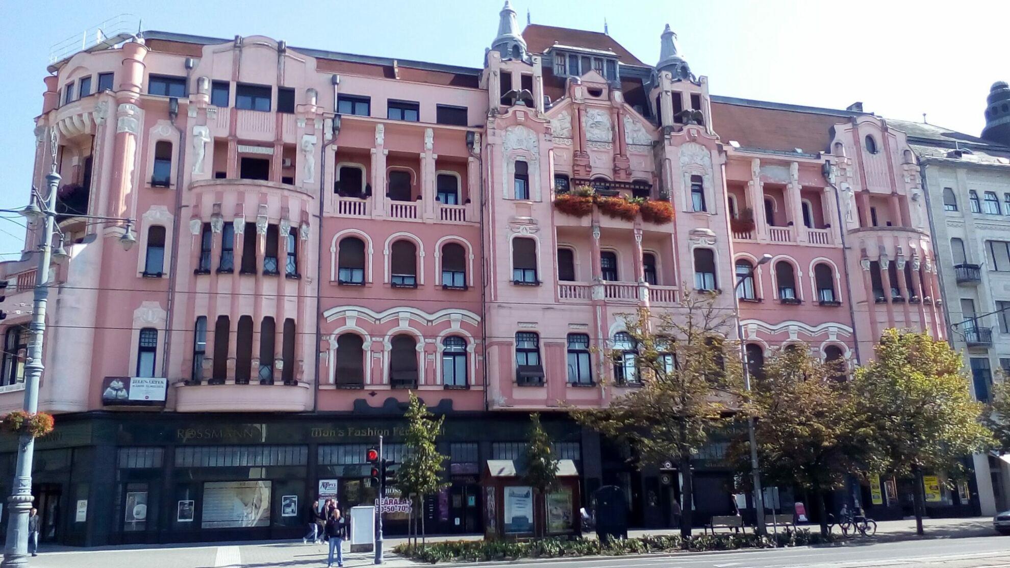 Takarékpénztár palota Debrecenben