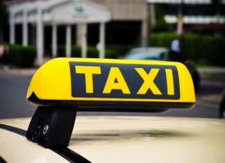 taxi felirat