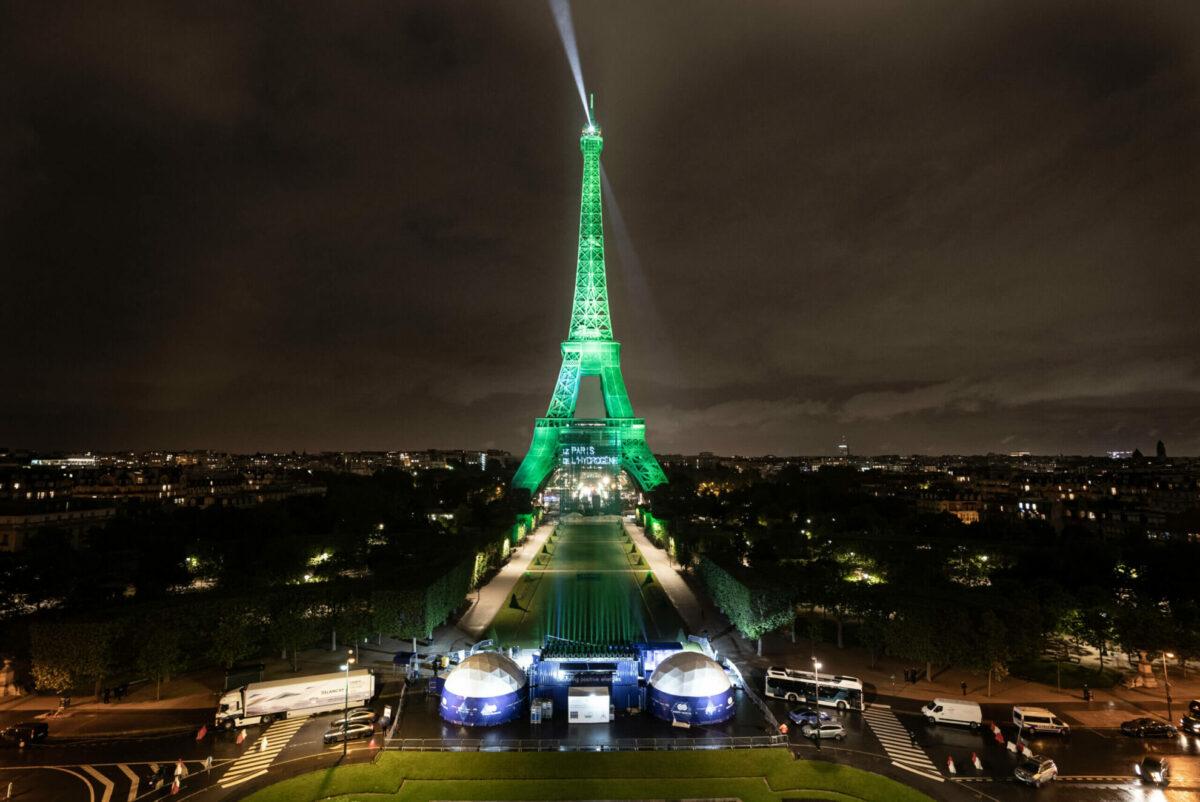 párizs hidrogén üzemenyagcella zöld energia toyota