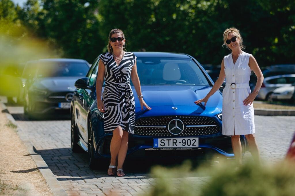 Új Mercedes C-osztály Szebeni Katalin Bauer Zsuzsa