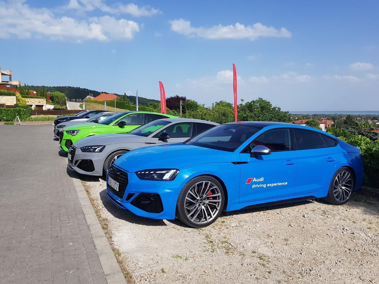 Audi Rs és S roadshow tesznapok