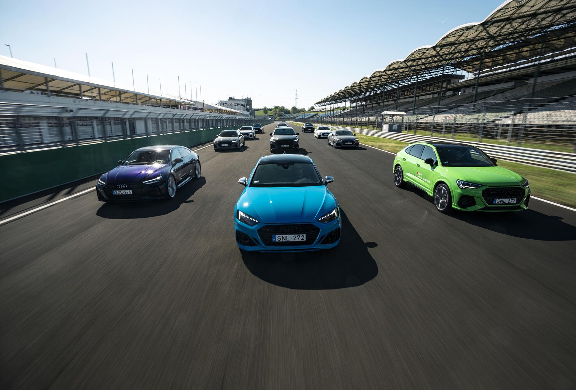 Audi RS és S modellek
