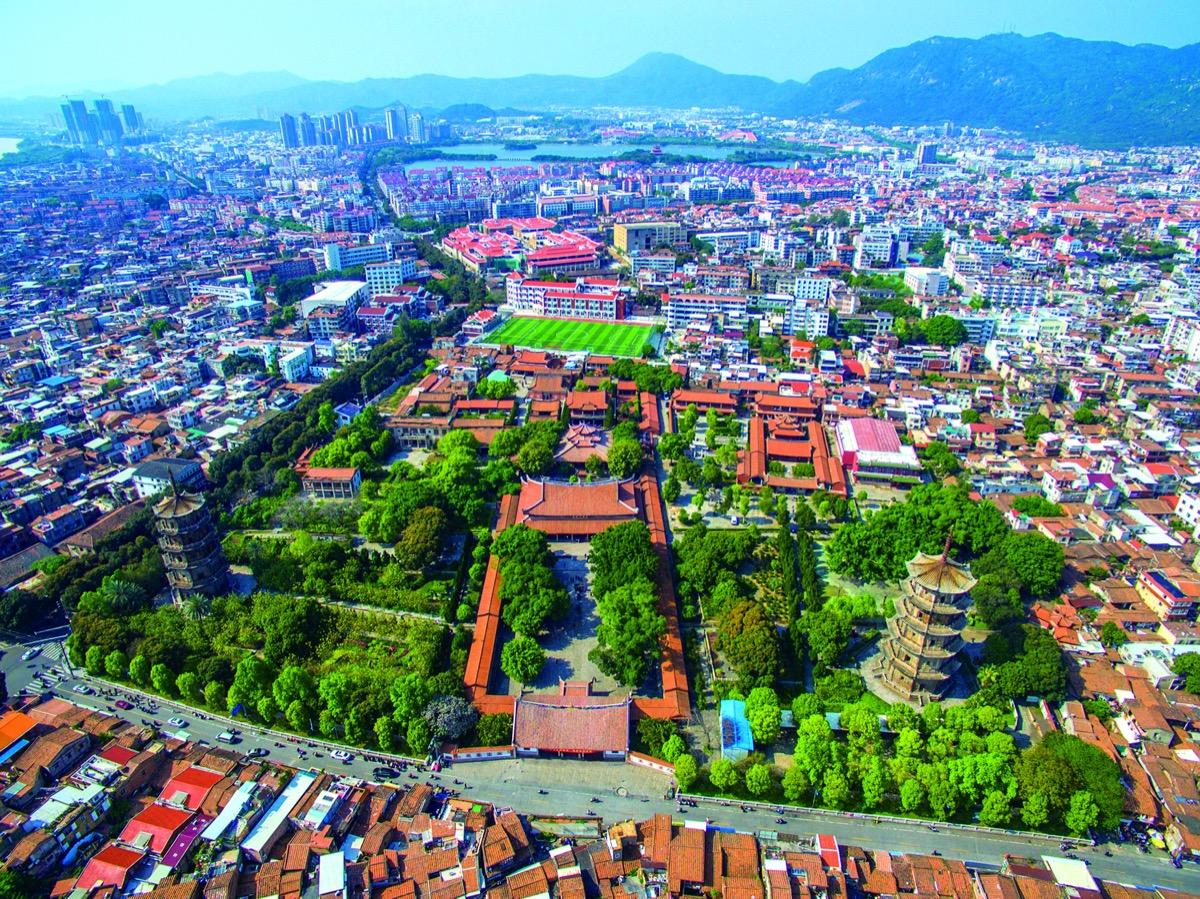 kína kanton unesco világörökség