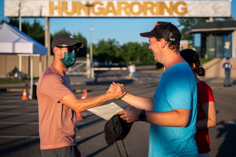 Sebastian Vettel hungaroring magyar nagydíj