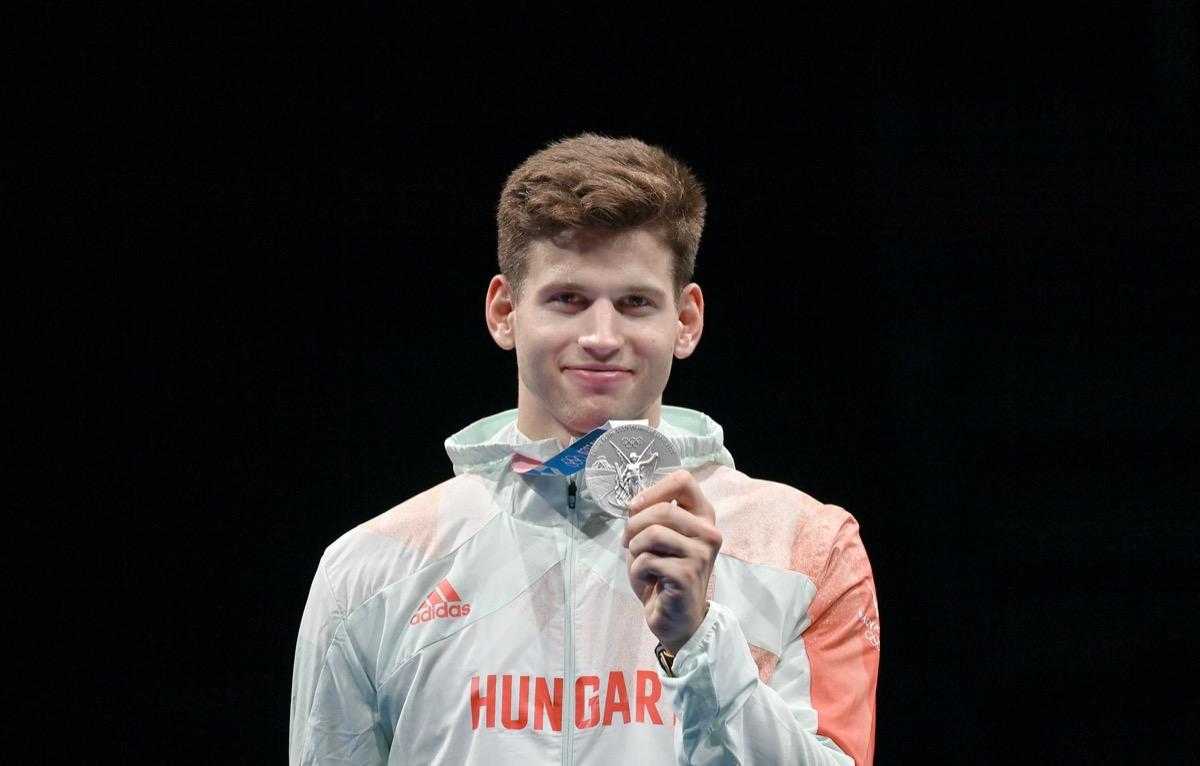 siklosi gergely parbajtőr olimpia 2020 tokió