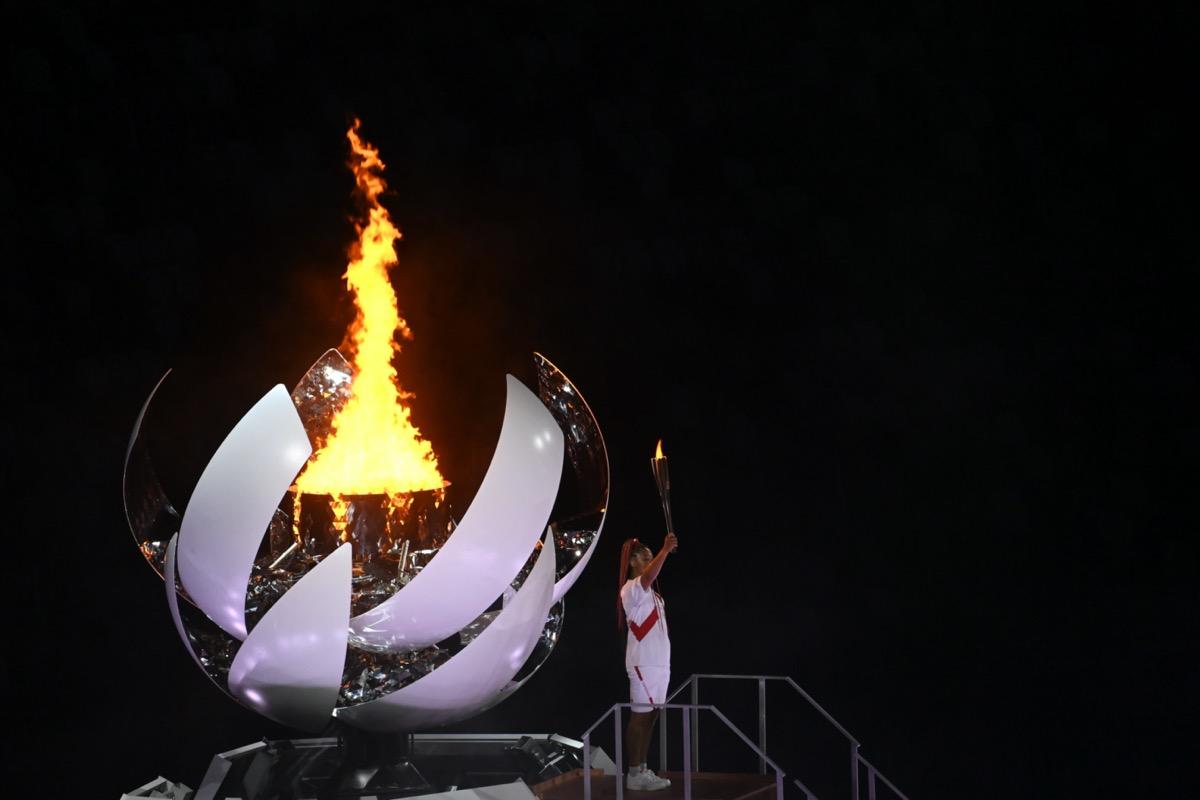 olimpiai fáklya tokió