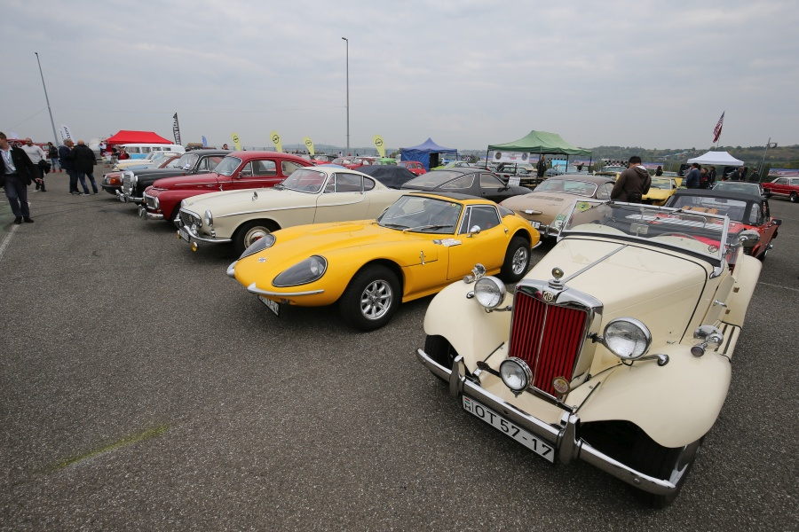 Hungaroring Classic veterán autók