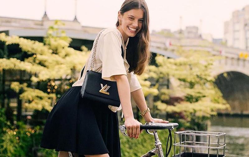 louis vuitton bicikli kerékpár