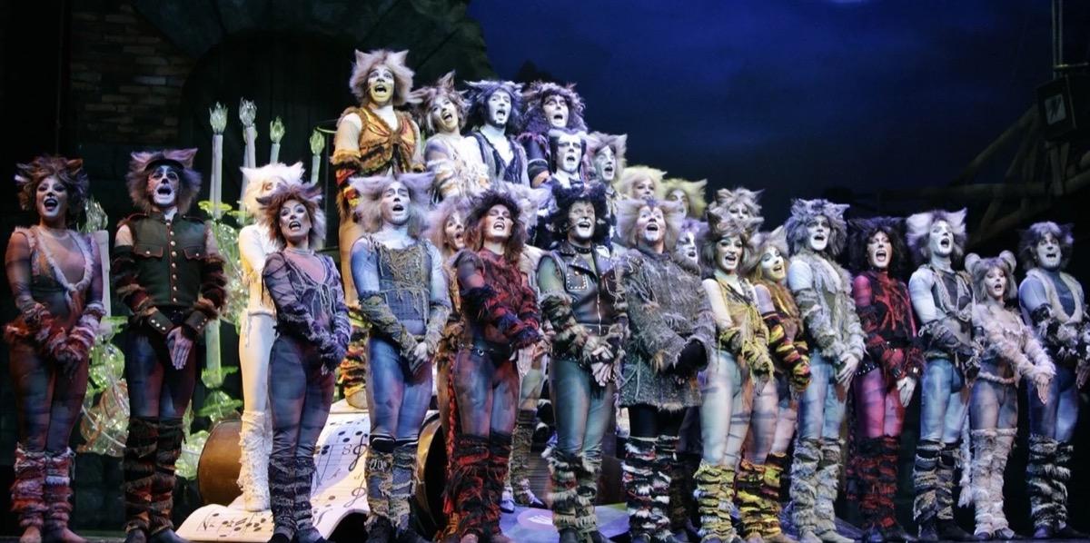 macskák madách színház
