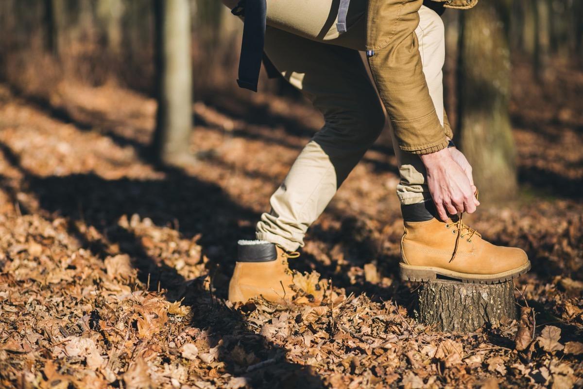 túracipő timberland bakancs