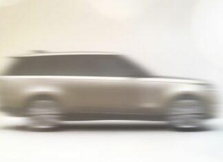 2022 új range rover