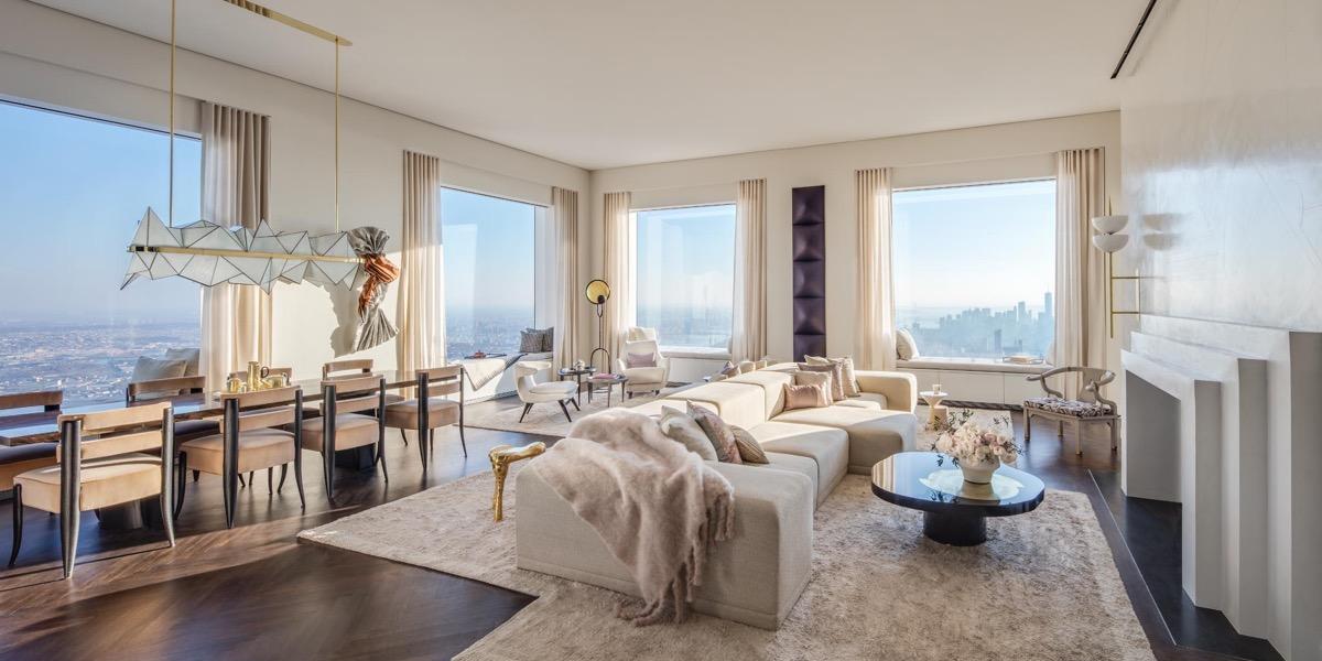 new york panorama luxus lakás