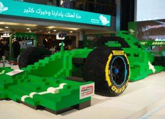 Lego Forma-1 auto